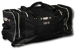 Сумка хоккейная на колесах HB-80 Артикул: 57-64.080 Цвет: черный.